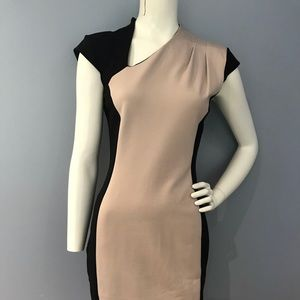 French Connection color block dress size 8